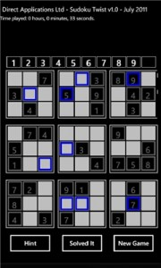 The Best Sudoku for Your Windows Mobile