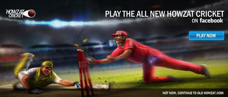Playing the Howzat Multiplayer game at Cricinfo.com